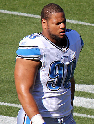 English: Ndamukong Suh, a National Football Le...