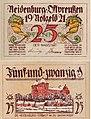 Neidenburg (Nidzica) 25Pf. 1921.jpg