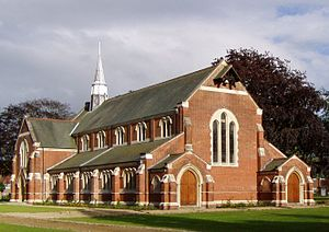 Netherne Hospital - The former hospital chapel of St. Luke, now in use as a swimming pool