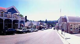 Broad Street, centro di Nevada City