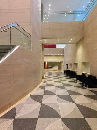 Fordham University School of Law - Law school lobby