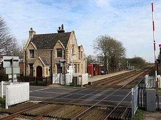 New Lane railway station