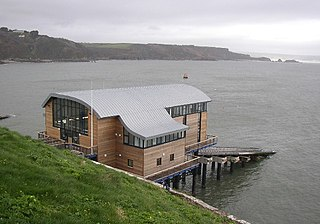 Tenby Lifeboat Station lifeboat station on the South coast of Wales