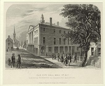 The Residence Act was passed in 1790, while Congress was convening at Federal Hall in New York City.