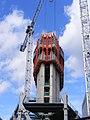 Newfoundland tower construction, Docklands E14 - 33320453736.jpg