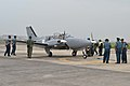 Newly Arrived Beechcraft Baron G58 of Indonesian Navy (cropped).jpg