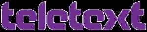 Teletext Ltd. - Image: Newteletextlogo 2007