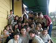 Niños costarricenses