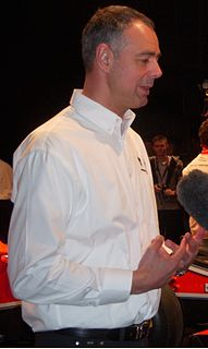 Nick Wirth British Formula One designer