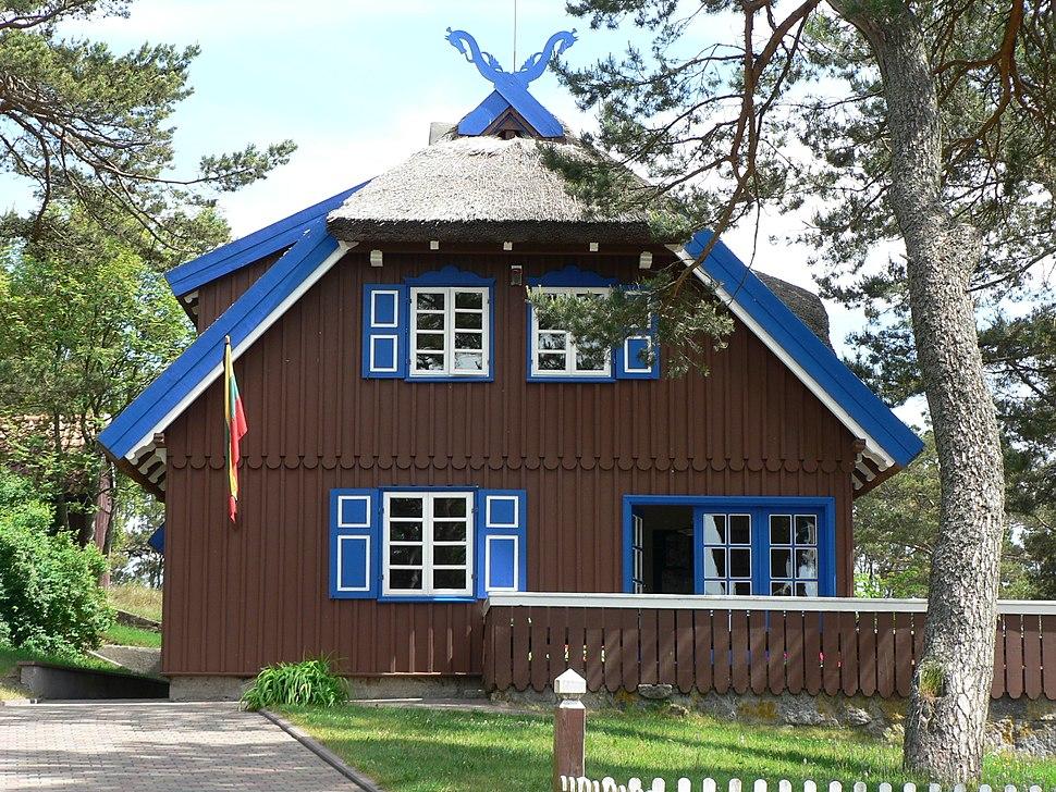 Nida ThomasMann cottage