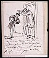 Nils emottager Herr Bourgharts välsignelse och anhållan om hans fortfarande praktik. Fritz von Dardel - Nordiska Museet - NMA.0043695.jpg
