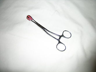 Nipple clamp - Tweezer type of Nipple clamp