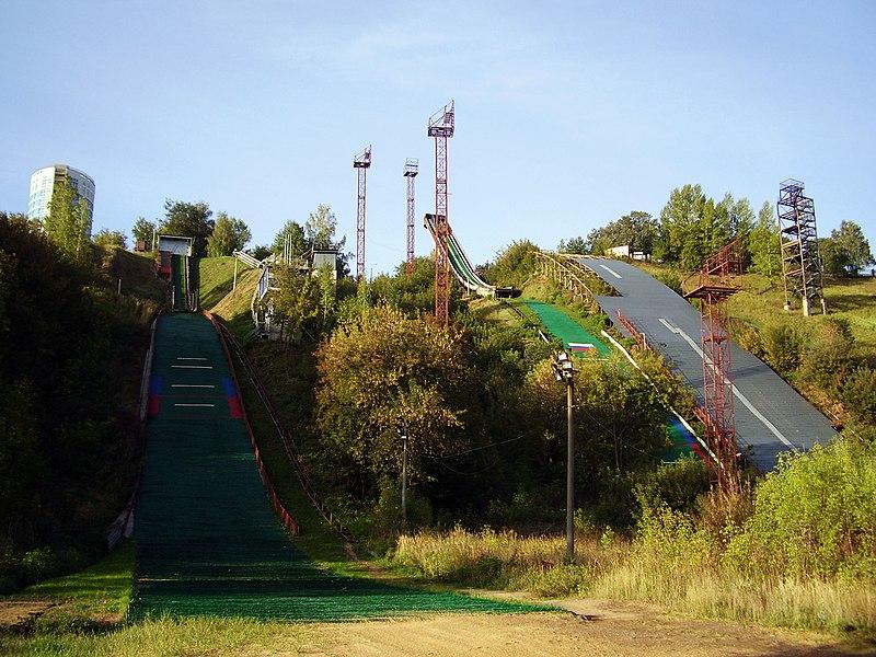 Nizhniy Novgorod   Ski Jumping M 30 In Nizhny Novgorod