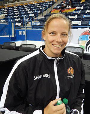 Gesche Schünemann - Gesche Schünemann at the 2014 Women's World Wheelchair Basketball Championship in Toronto in 2014