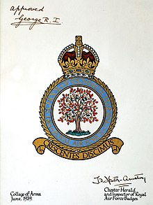 heraldic badges of the royal air force wikipedia
