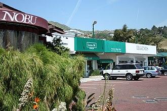 Malibu Country Mart - Image: Nobu