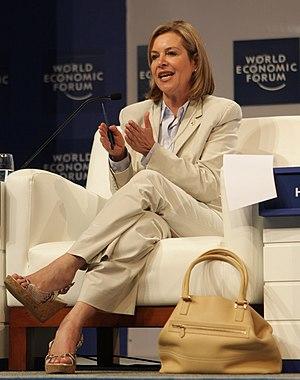 Noemí Sanín - Sanín at the World Economic Forum in 2010.