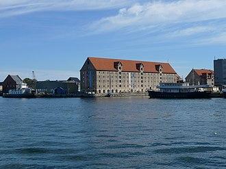 Grønlandske Handels Plads - Grønlandske Handelsplads viewed from the water
