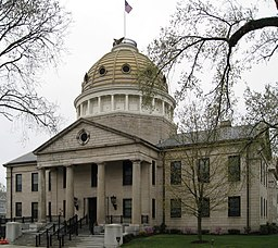 Norfolk County Courthouse i Dedham.