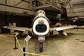 North American F-86A Sabre HeadOn Modern Flight NMUSAF 26Sep09 (14413716489).jpg