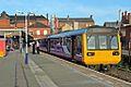 Northern Rail Class 142, 142043, platform 1, Wigan Wallgate railway station (geograph 4512812).jpg