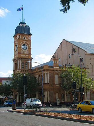 Don Dunstan - Dunstan is strongly associated with the suburb of Norwood; a memorial in his honour is embedded in the footpath outside the Norwood Town Hall (pictured).