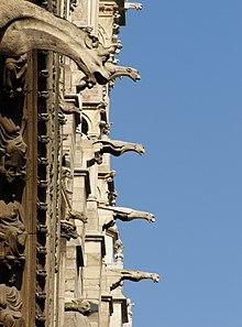 Gargoyles Of Notre Dame De Paris