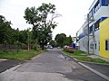 Novostrašnická, od Úvalské k západu.jpg