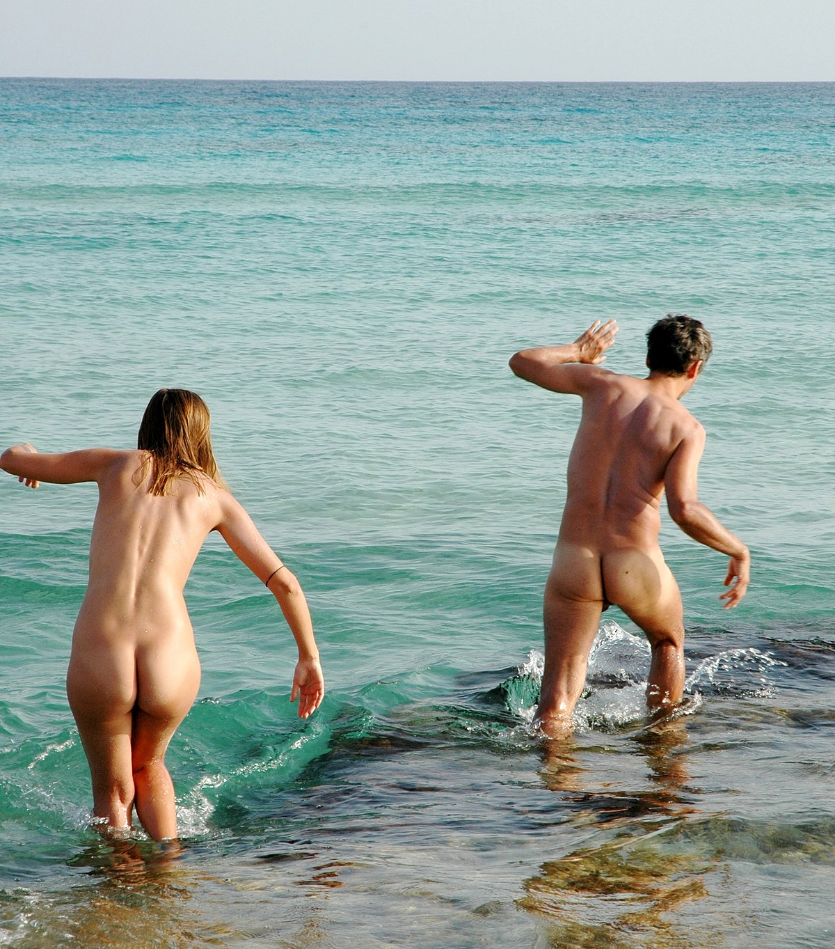 Guys at a nude beach-2756