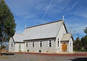 Nullawil - Image: Nullawil Roman Catholic Church 003