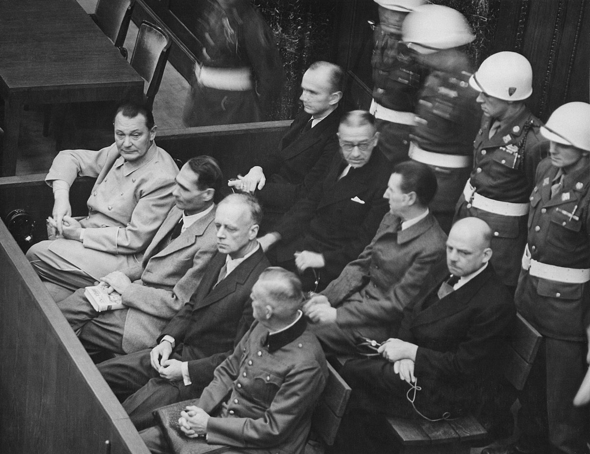 nuremberg trials bibliography