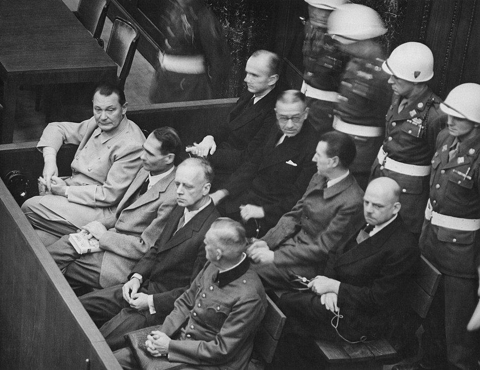 Nuremberg Trials retouched