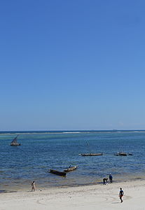 Nyali Beach from the Reef Hotel during high tide in Mombasa, Kenya 50 (edited).jpg