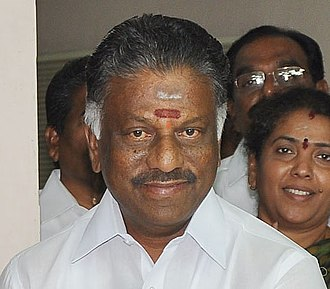 Government of Tamil Nadu - Image: O. Paneerselvam