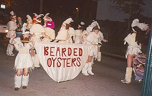 Krewe of OAK - Oysters hit the street