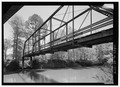 OBLIQUE PERSPECTIVE OF BELOW DECK STRUCTURE - Tull Bridge, Spanning Saline River at CR 5, Tull, Grant County, AR HAER AR-77-4.tif