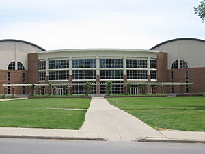 Ohio University - Charles J. Ping Recreation Center on South Green