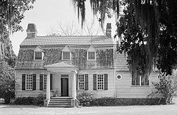 Oakland Plantation, Front facade, Mount Pleasant vicinity (Charleston County, South Carolina).jpg