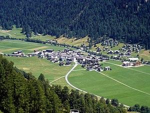 Obergoms - Obergesteln village