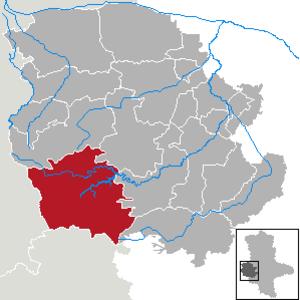Oberharz am Brocken - Image: Oberharz am Brocken in HZ