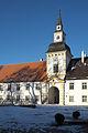 Oberschleißheim Altes Schloss Uhrturm 032.jpg