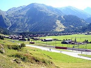 Obergoms - Image: Oberwald VS5