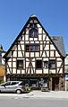 Oberwesel Chablisstraße 5, Fachwerk- Rähmbau 1626.jpg