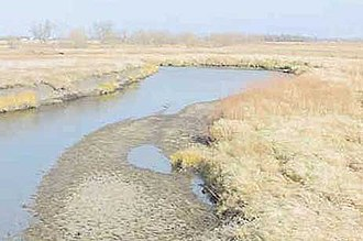 Lake Ocheda (Minnesota) - The Ocheyedan River flows out of Lake Ocheda and joins the Little Sioux River near Spencer, Iowa.