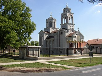 Odžaci - Orthodox church in Odžaci
