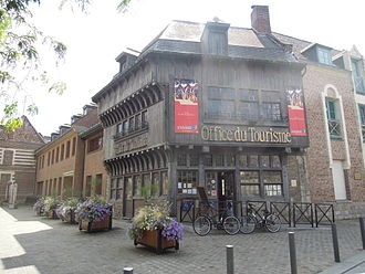 Valenciennes - La Maison Espagnole, now home to the tourist information office