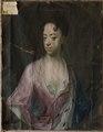 Okänd kvinna (Johann Salomon Wahl) - Nationalmuseum - 14764.tif