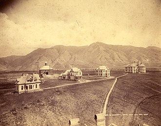 Utah State University - Utah State University in 1892.
