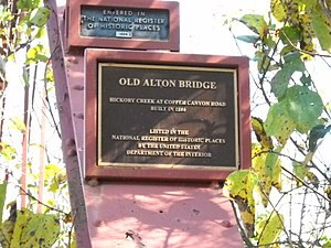 Old Alton Bridge