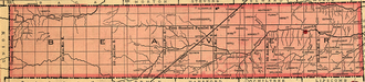 Oklahoma Panhandle - Old Beaver County encompassed the whole Panhandle from 1890 until statehood